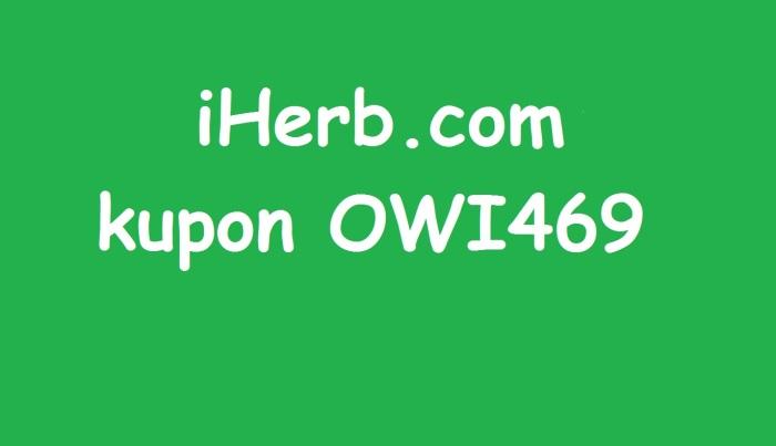 iherb kupon OWI469